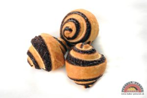 Csokis mini croissant